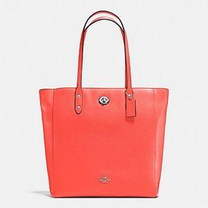 Coach tote bag outlet Lady's COACH F12184 orange